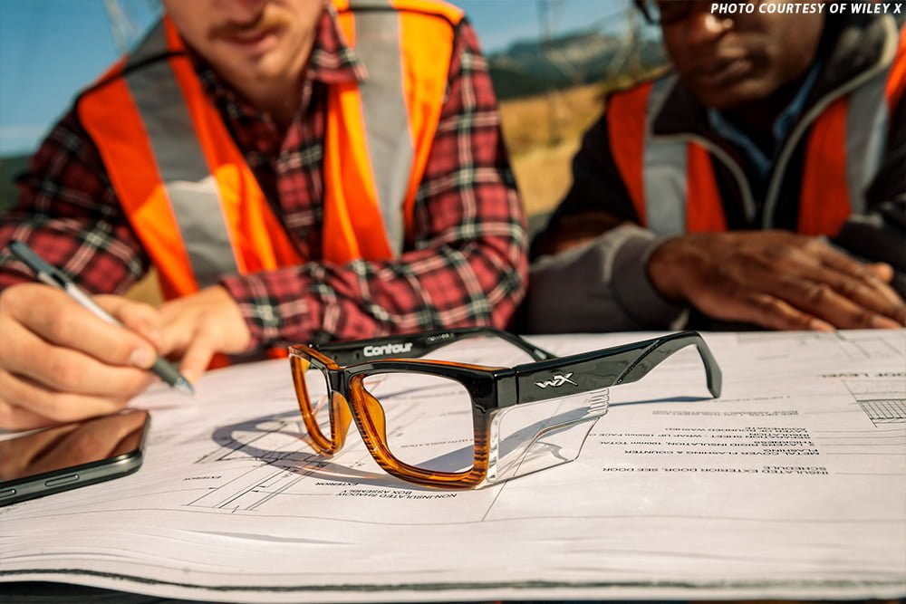 Why workers might not be wearing their safety glasses